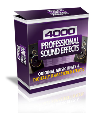 4000 DJ Audio Sound Effects